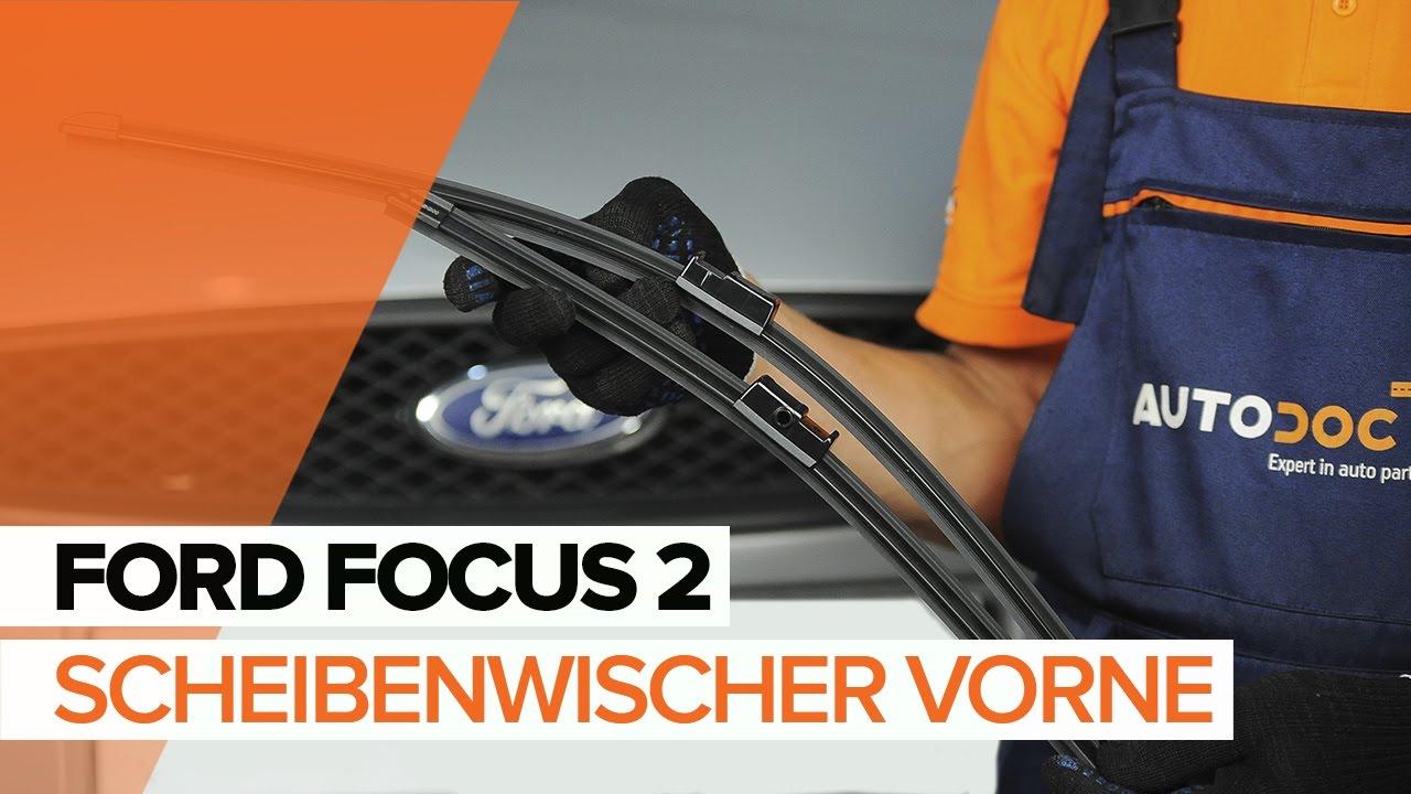 ford focus 2 scheibenwischer wechseln mechaniker24. Black Bedroom Furniture Sets. Home Design Ideas